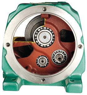 Compabloc Atex (Stof) zone 22 motorreductor - Leroy-Somer